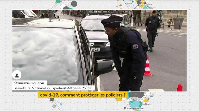 """Coronavirus : """"Les policiers sont au contact du public sans matériel de protection"""""""