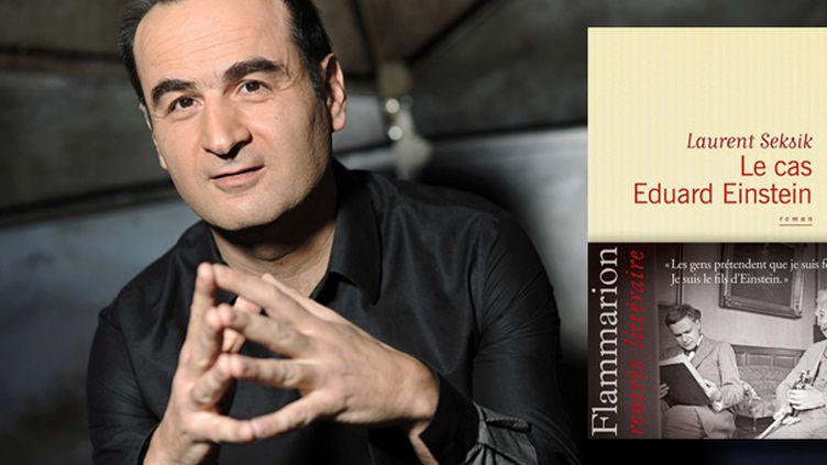 """Laurent Seksik en lice pour le Goncourt avec """"Le cas Eduard Einstein""""  (BALTEL/SIPA)"""