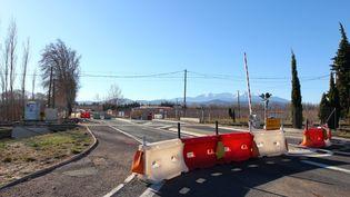 Le lieu de l'accident de Millas aura été fermé à la circulation pendant huit mois. (CLEMENTZ MICHEL / MAXPPP)