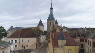 La cité médiévale d'Avallon (Yonne) renferme de nombreux trésors. (CAPTURE ECRAN FRANCE 2)