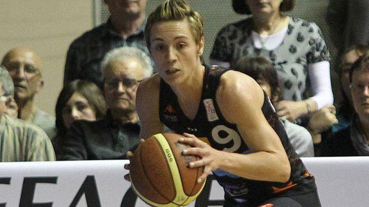 La joueuse de Bourges Céline Dumerc