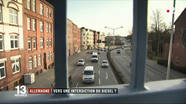 Allemagne : vers une interdiction du diesel en centre-ville ?