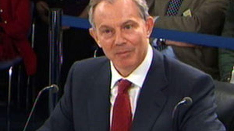 Tony Blair auditionné par la commission d'enquête britannique sur l'invasion de l'Irak (France 2)