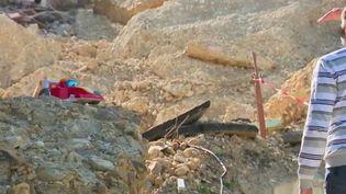 Il y a quatre mois, un rocher s'était décroché de la colline surplombant Les Mées (Alpes-de-Haute-Provence). Pour les familles sinistrées et relogées depuis, le confinement, qui entre dans sa quatrième semaine mardi 7 avril, est une nouvelle épreuve. (France 2)