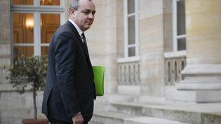 Laurent Berger,secrétaire général de la CFDT, à l'Elysée (Paris) le 7 janvier 2020. (LIONEL BONAVENTURE / AFP)