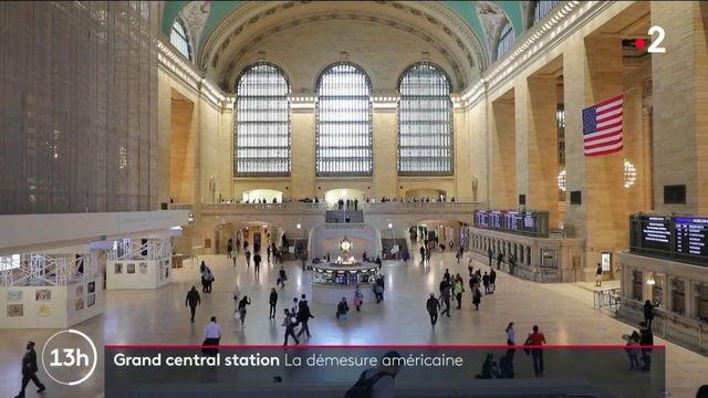États-Unis : la gare Grand Central à New York, la démesure à l'américaine