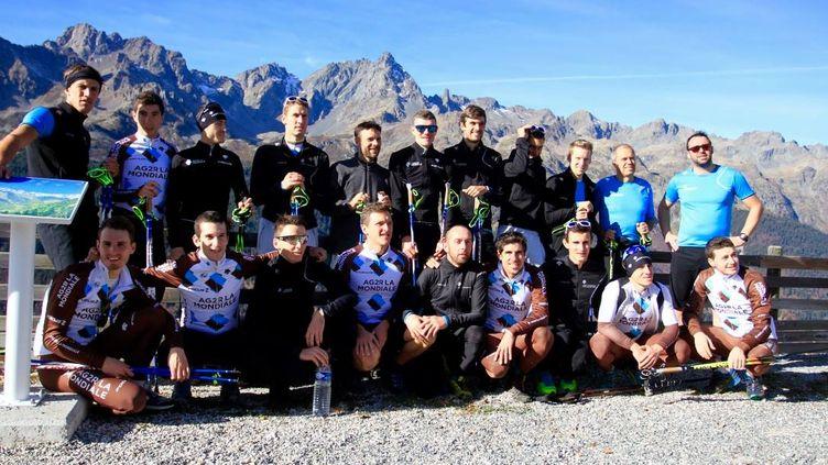 L'équipe AG2R La Mondiale était en stage dans l'Isère cette semaine.