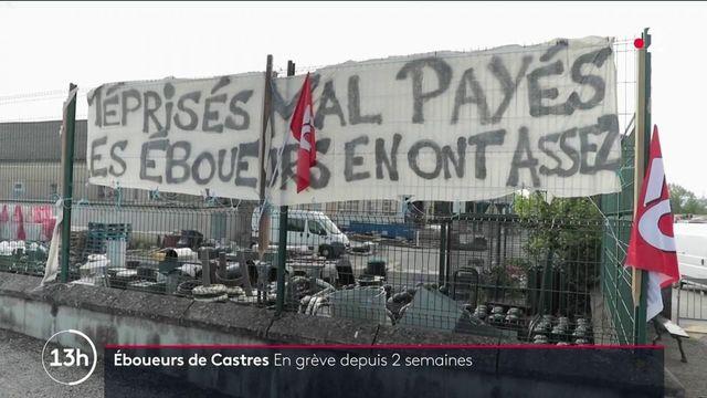 Castres : les éboueurs font grève pour sortir de la précarité