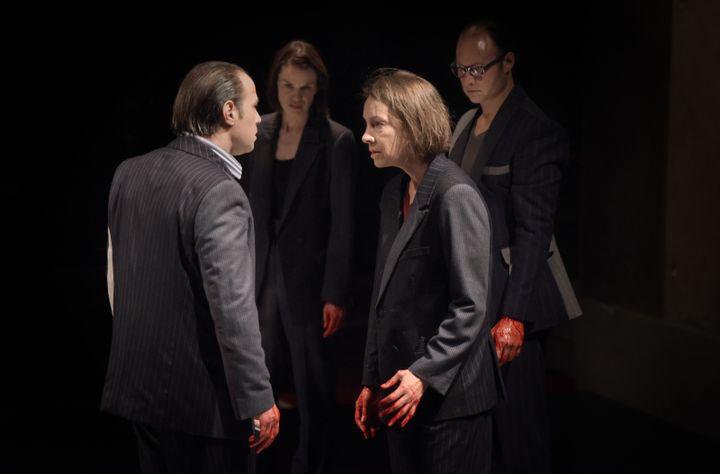 Jules César, avec Françoise Gillard, Clotilde de Bayser, Nazim Boudjenah, Noam Morgensztern (VINCENT PONTET)