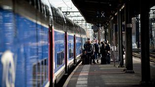 Le TGV entre la France et l'Espagne, Paris-Barcelone, a été inauguré le 15 décembre 2013. (ARTHUR NICHOLAS ORCHARD / HANS LUCAS / AFP)