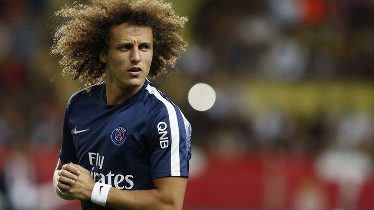David Luiz ne sera plus Parisien cette saison. (VALERY HACHE / AFP)