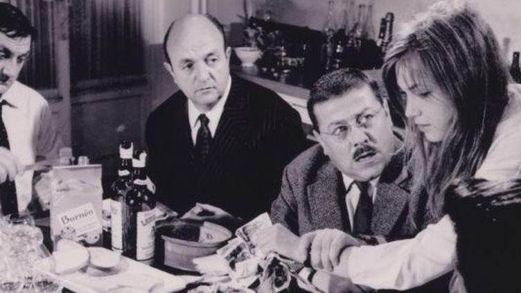 """La scène de la cuisine dans """"Les tontons flingueurs""""  (Gaumont)"""