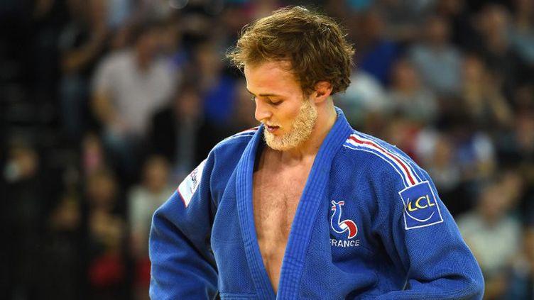 Ugo Legrand avait remporté le bronze olympique en 2012  (PASCAL GUYOT / AFP)