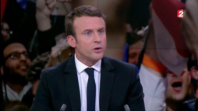 """Macron se dit """"triste"""" pour les """"électeurs de Mélenchon"""" qui """"valent beaucoup mieux"""""""