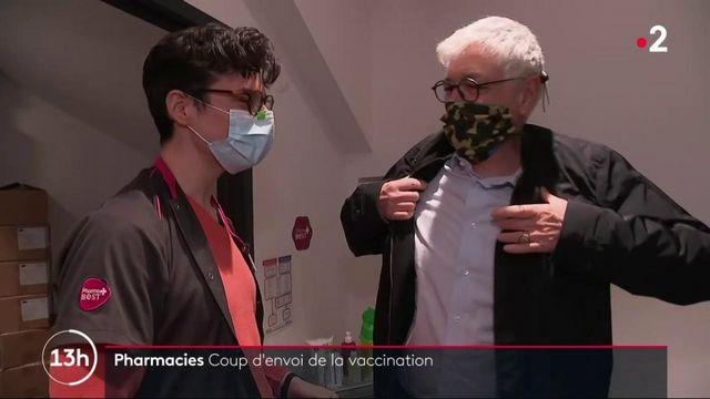 Covid-19 : c'est parti pour la vaccination en pharmacie