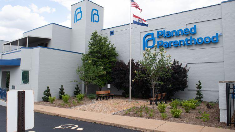 La clinique de Planned Parenthood, dernière de l'Etat du Missouri à pratiquer des IVG, à Saint-Louis (Etats-Unis), le 30 mai 2019. (SAUL LOEB / AFP)
