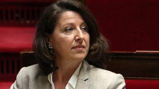 Agnès Buzyn, la ministre de la Santé, à l'Assemblée nationale, à Paris, le 6 mars 2019. (KENZO TRIBOUILLARD / AFP)