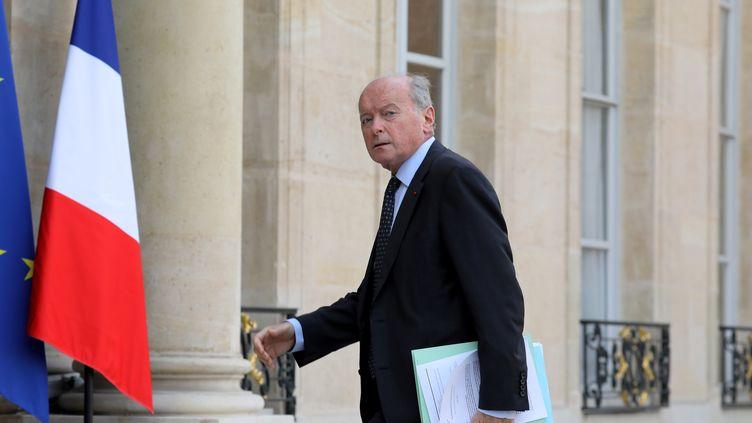 Le Défenseur des droits Jacques Toubon le 17 octobre 2017 au palais de l'Élysée. (LUDOVIC MARIN / AFP)