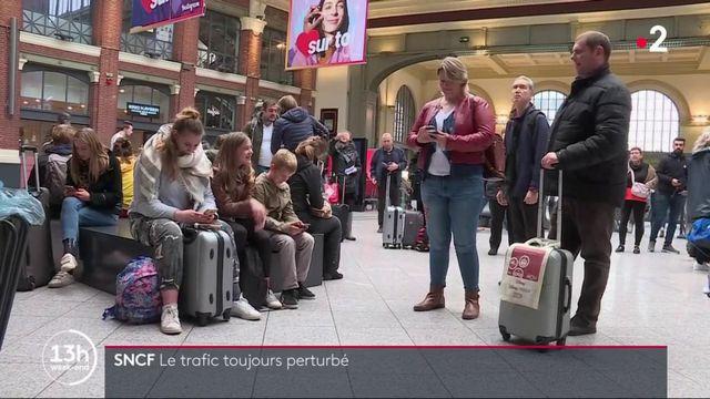 SNCF : le trafic est toujours perturbé