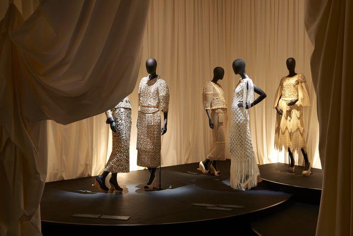 """Exposition """"Mademoiselle Privé"""" de Chanel à Shanghai : la haute couture, avril 2019 (OLIVIER.SAILLANT)"""