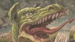 La légende du dragon de Provence a donné à la ville de Draguignan (Var) ses armes médiévales. (FRANCE 2)