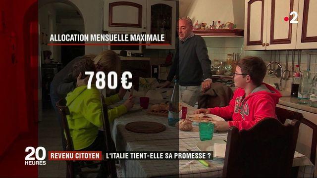 Revenu citoyen : l'Italie tiendra-t-elle sa promesse ?