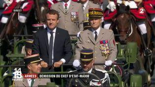 Armées : démission du chef d'état-major (FRANCE 2)