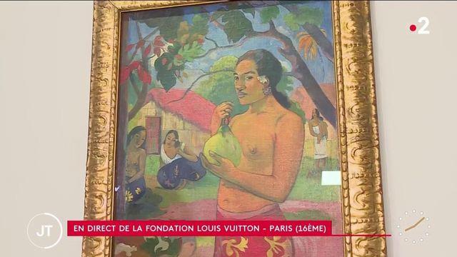 Culture: la Fondation Louis Vuitton accueille 200 chefs d'œuvres de la peinture