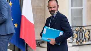 Le Premier ministre, Edouard Philippe, arrive à l'Elysée le 29 juin 2020. (ANDREA SAVORANI NERI / NURPHOTO / AFP)