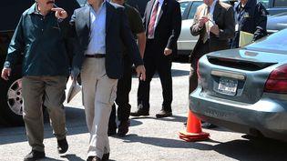 Les autorités américaines ont alncé une chasse à l'homme après l'évasion de deux détenus de la prison de haute sécurité deClinton à Dannemora (New York), samedi 6 juin 2015. (GABE DICKENS /AP /SIPA)