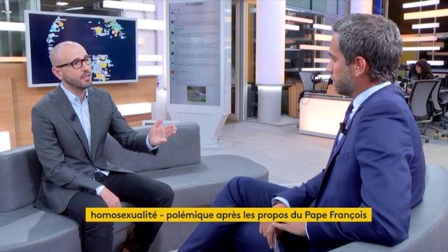 Romain Burrel était l'invité de Julien Benedetto dans le 21h-minuit de Franceinfo.