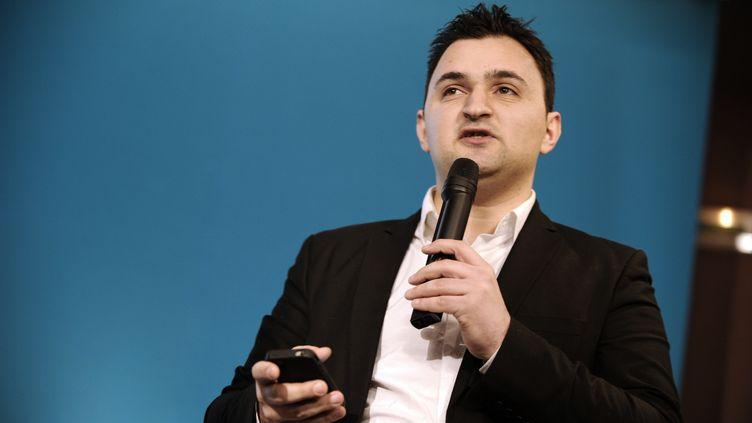 Jean-François Martins,le 7 février 2012 à Paris. (LIONEL BONAVENTURE / AFP)