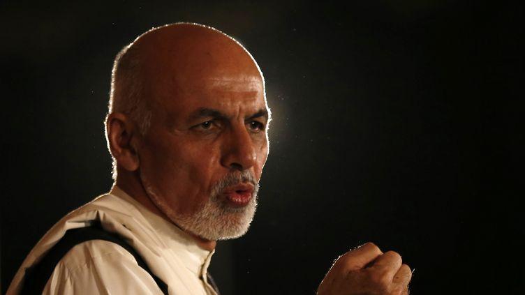 Ashraf Ghani a été proclamé président de la République afghan, dimanche 21 septembre. (MOHAMMAD ISMAIL / REUTERS)