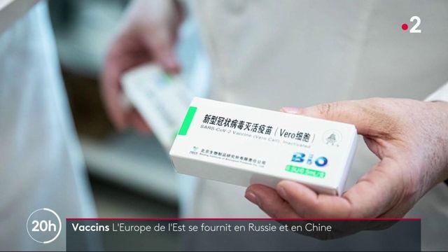 Covid-19 : les vaccins chinois et russe administrés dans certains pays d'Europe de l'Est