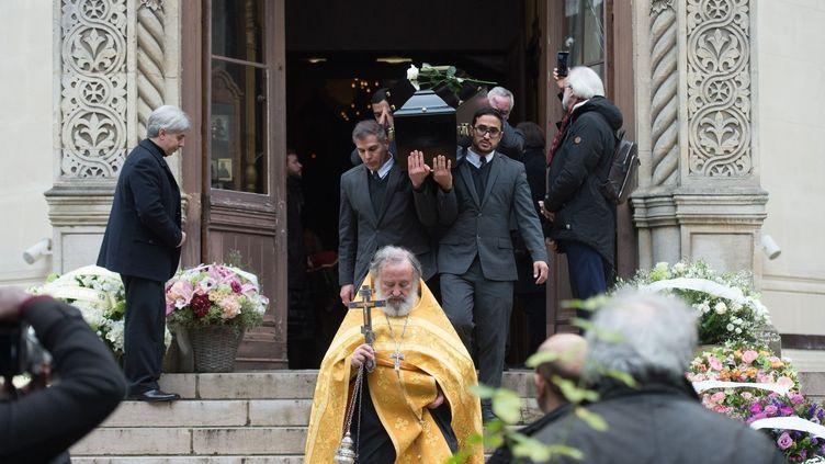 Obsèques de Michel Legrand, le 1er février 2019 à Paris  ( CHAMUSSY/SIPA)