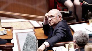 Le ministre des Finances, Michel Sapin, le 21 mai 2014 à l'Assemblée nationale. (MAXPPP)