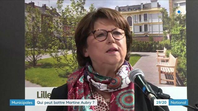 Municipales : Martine Aubry devancée à Lille ?