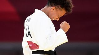 Amandine Buchard est désormais médaillée toutes les compétitions internationales majeures. (AGENCE KMSP / KMSP)