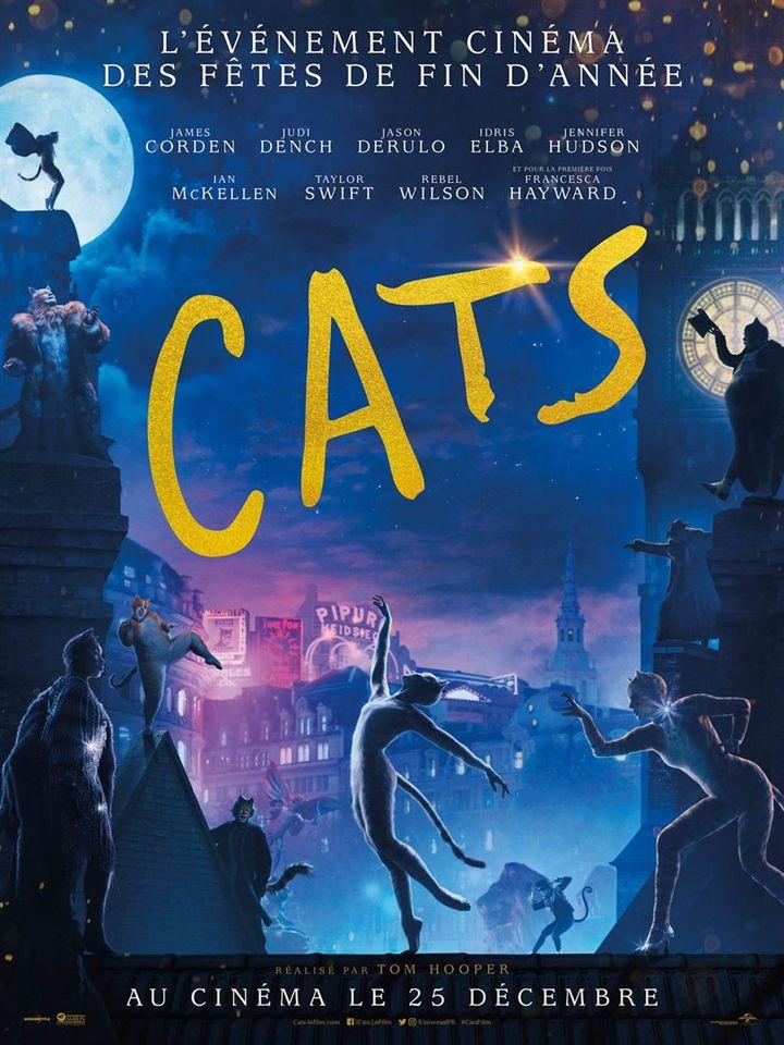 """L'affiche de """"Cats"""" de Tom Hooper. (Universal Pictures International France)"""