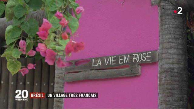 Brésil : un village très français