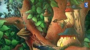Des dessins originaux de l'illustrateur Claude Ponti à Marseille  (Culturebox)