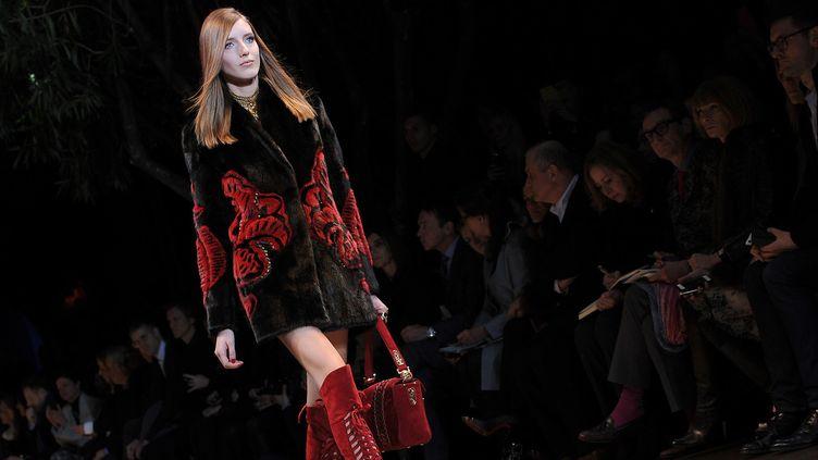 Versace automne-hiver 2014, février 2014 à Milan  (Getty Images)