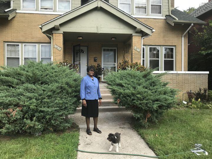 Il y a un an et demi, Katherine a acheté une petite maison en très mauvais état pour seulement 5000 dollars, qu'elle a rénovée depuis. (GREGORY PHILIPPS / RADIO FRANCE)