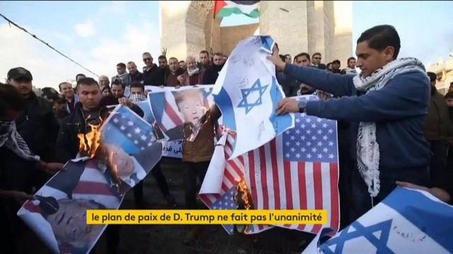 Israël-Palestine : le plan de paix rejeté par les Palestiniens et les colons israéliens