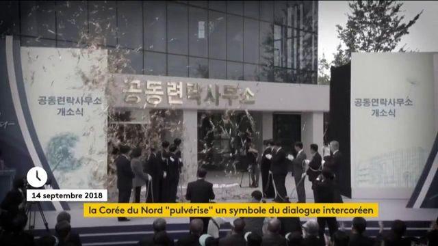 La Corée du Nord fait exploser un symbole du dialogue intercoréen