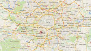 Un joggeur a été blessé par arme à feu, le 7 janvier 2015, à Fontenay-aux-Roses (Hauts-de-Seine). (GOOGLE MAPS)