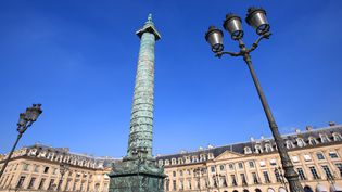 La colonne Vendôme à Paris édifiée par Napoléon pour commémorer la bataille d'Austerlitz  (BENELUXPIX/MAXPPP)