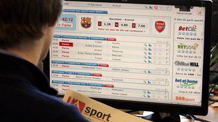 La crise du Covid-19 a augmenté le chiffre d'affaire des paris sportifs en ligne (photo d'illustration). (JEAN PAUL DOMB / MAXPPP)