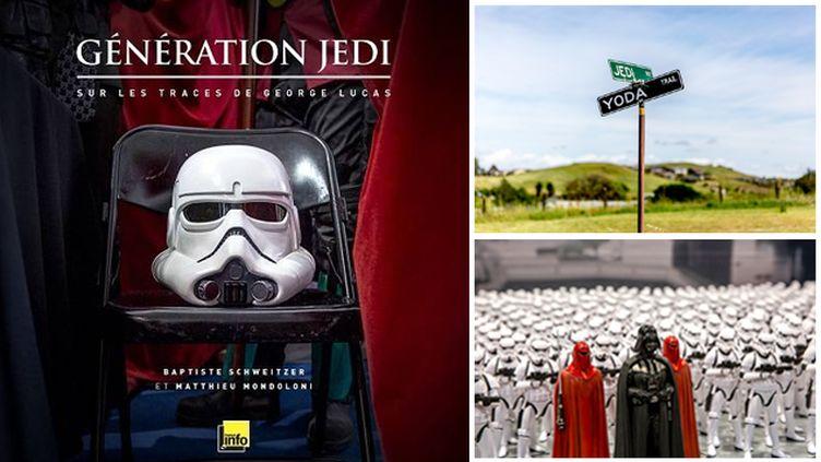 """(Livre """"Génération Jedi, sur les traces de Georges Lucas"""" © RF / Matthieu Mondoloni)"""