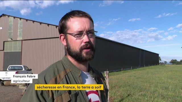 Cantal : l'inquiétude des éleveurs à cause de la sécheresse
